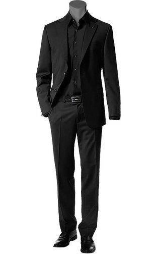 Schwarzer anzug online kaufen bei - Hochzeitsanzug hugo boss ...