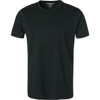 camel active Rundhals T-Shirt schwarz