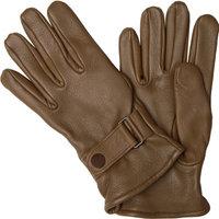Handschuhe aus Hirschleder sattel