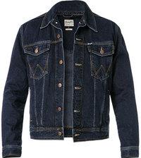 Wrangler Jeans Jacke blue black