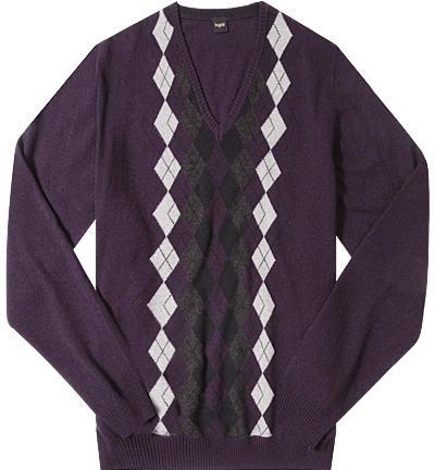 V-Pullover Scott violett 7111/85504/850