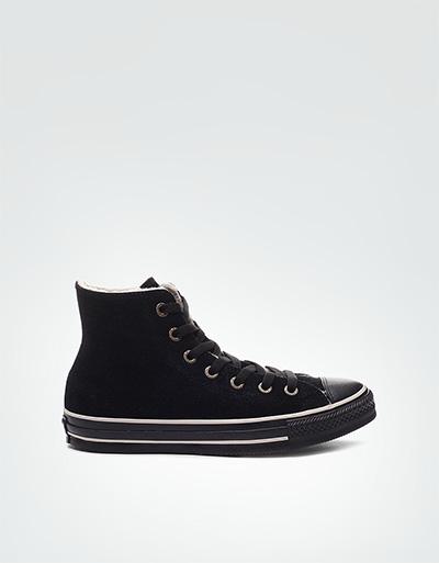 Converse Damen Chuck Taylor All Star black Sneaker , Leder, schwarz ...