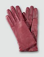Damen Lederhandschuhe 300/rot