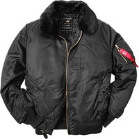 ALPHA INDUSTRIES Jacke black
