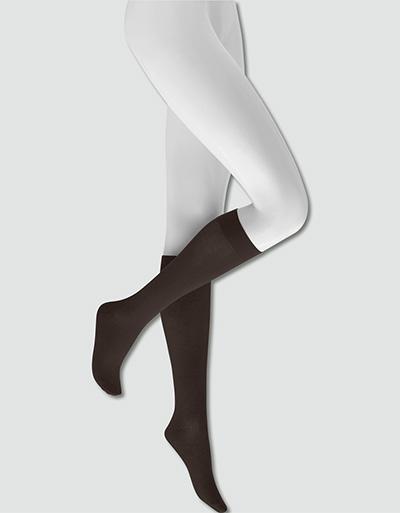 KUNERT Velvet Cotton Kniestrumpf 282000 3er Pack