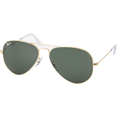 Ray Ban Brille gold-gr�n 0RB3025/L0205