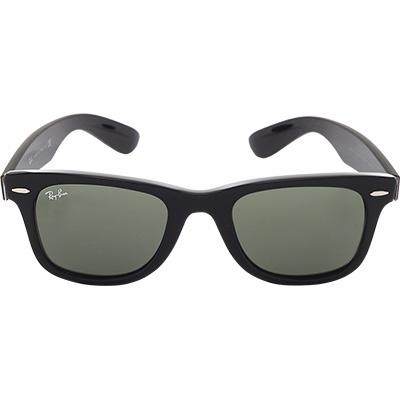 ray ban brille wayfarer schwarz in schwarz. Black Bedroom Furniture Sets. Home Design Ideas
