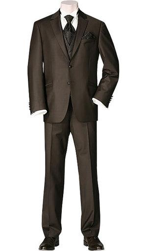 Wilvorst Anzug braun