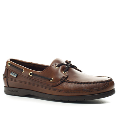 SEBAGO Schooner brown oiled waxy B75943