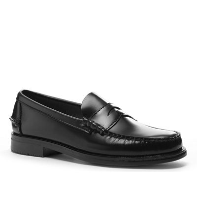 SEBAGO Grant black leather B70767