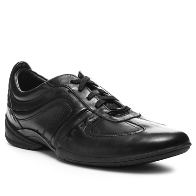 Clarks Flux Spring black leather 20339055G