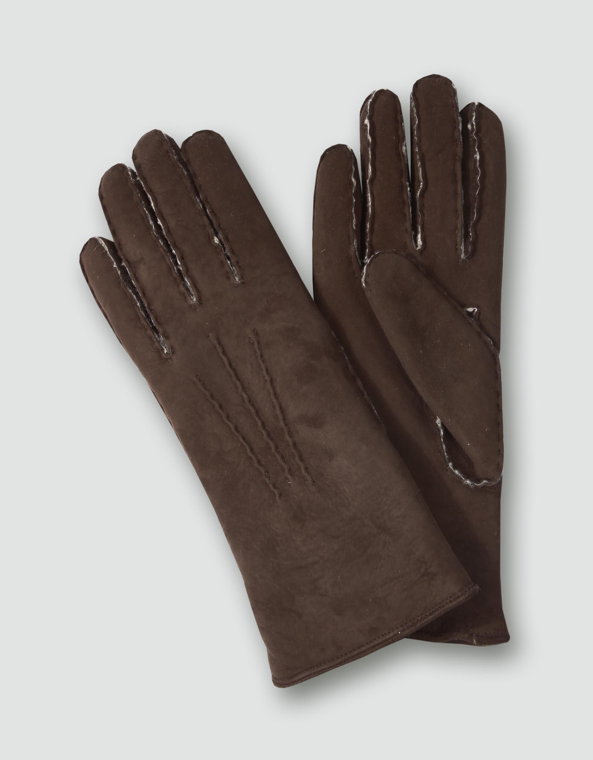 roeckl damen handschuhe lammfell braun empfohlen von. Black Bedroom Furniture Sets. Home Design Ideas