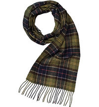 Barbour Tartan Lambswool Scarf USC0001TN11