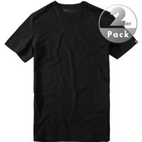 Levi's® T-Shirt 2er Pack schwarz
