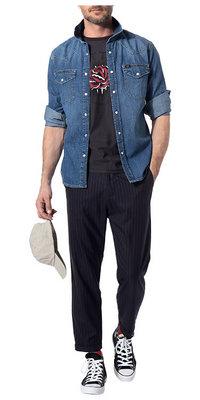 Denim meets Grunge<br>Komplett-Outfit