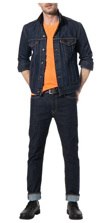 Allover Denim<br>Komplett-Outfit