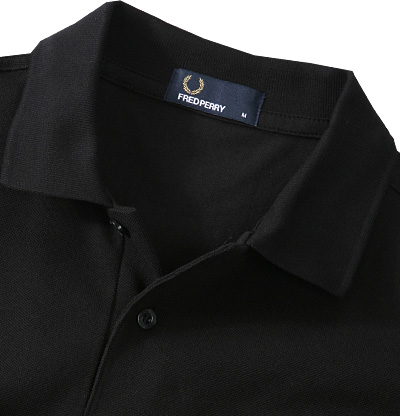 Fred Perry Polo black M3000/906 (Dia 2/2)