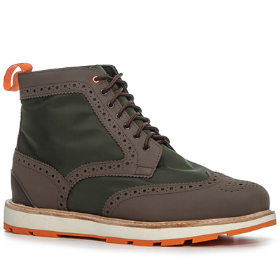 SWIMS Charles High Top 120000/green-brown (Dia 1/2)