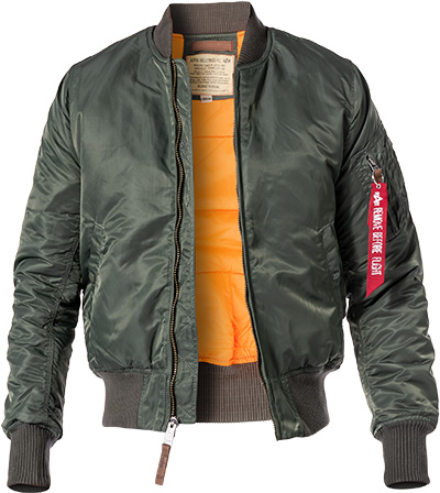 ALPHA INDUSTRIES Jacke MA-1 VF 59 191118/01 (Dia 1/2)