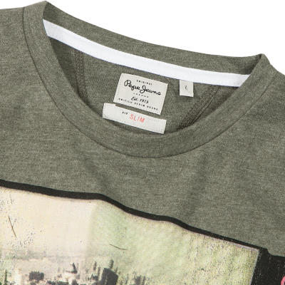 Pepe Jeans T-Shirt Jones grün PM501337/665 (Dia 2/2)