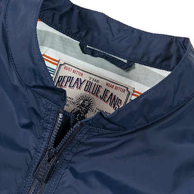Replay Jacke blue M8972/81042/271 (Dia 3/2)
