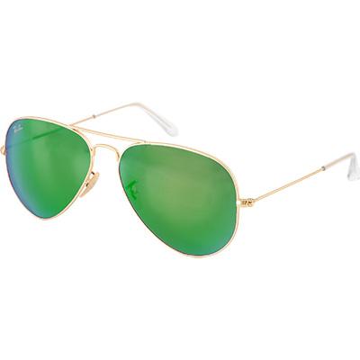 ray ban aviator grün oder blau