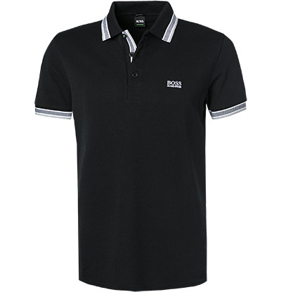 HUGO BOSS Polo schwarz 50198254/001 (Dia 1/2)
