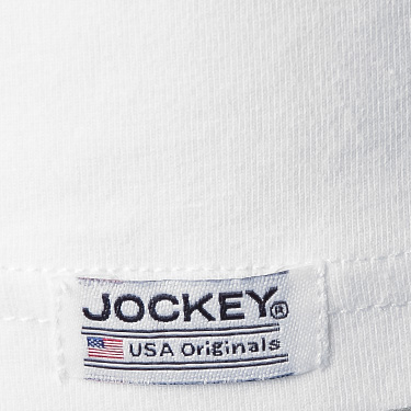 Jockey T-Shirt 2er Pack weiß 17301822/100 (Dia 3/2)
