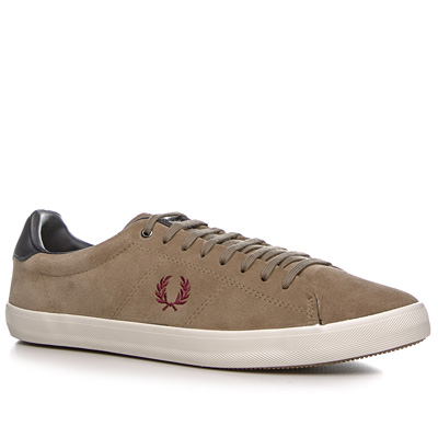Fred Perry Howells Suede greige B4211/627 (Dia 1/2)