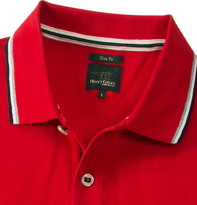 Henry Cotton's Polo-Shirt 8314850/84471/447 (Dia 2/2)