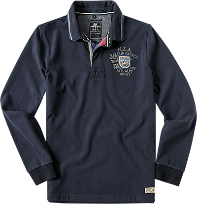 N.Z.A. Polo-Shirt 14GN205/navy (Dia 1/2)