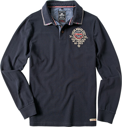 N.Z.A. Polo-Shirt 14GN201/navy (Dia 1/2)