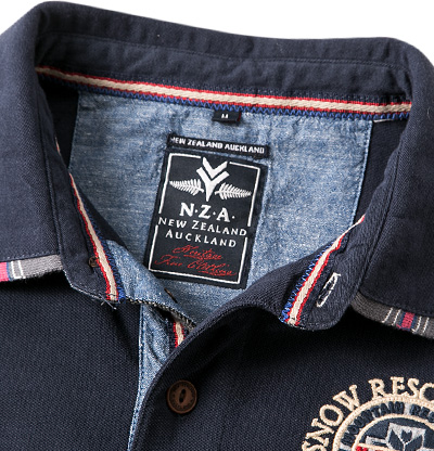 N.Z.A. Polo-Shirt 14GN201/navy (Dia 2/2)