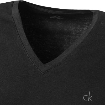 Calvin Klein LIQUID COTTON V-Shirt U8321A/001 (Dia 2/2)