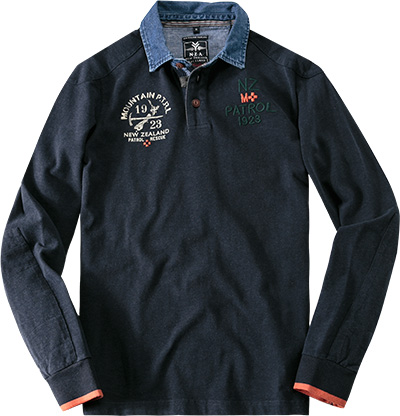 N.Z.A. Polo-Shirt 14HN204/navy (Dia 1/2)