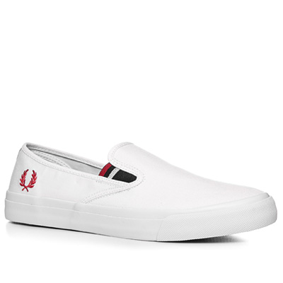 Fred Perry Turner Slip on Canvas B6221/100 (Dia 1/2)