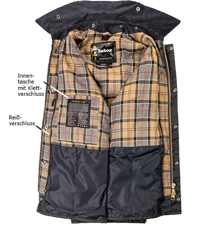 Barbour Jacke Bedale Wax MWX0018NY91 (Dia 3/2)