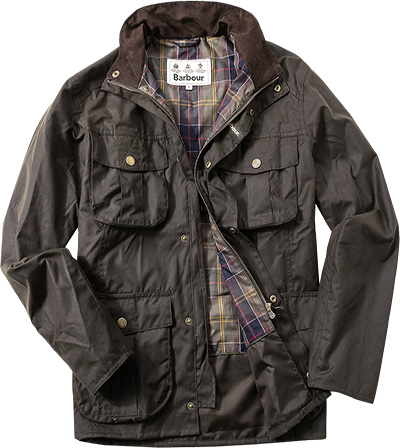 Barbour Jacke New Utility Wax MWX0827OL71 (Dia 1)