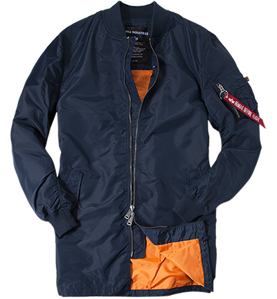 ALPHA INDUSTRIES Mantel Ma-1 TT Coat 166102/07 (Dia 1/2)