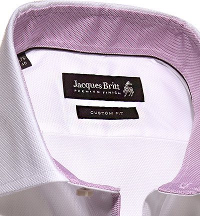 Jacques Britt Hemd Oxford Mix EL 636001/03 (Dia 2/2)