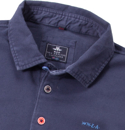 N.Z.A. Polo-Shirt 16BN150S/navy blue (Dia 2/2)