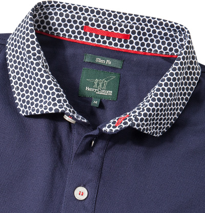 Henry Cotton's Polo-Shirt 8330850/84498/749 (Dia 2/2)