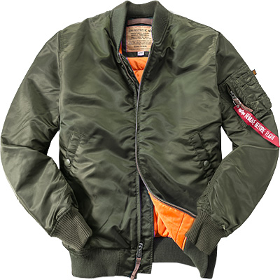 ALPHA INDUSTRIES Jacke MA-1 VF 168100/257 (Dia 1/2)