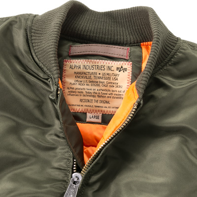 ALPHA INDUSTRIES Jacke MA-1 VF 168100/257 (Dia 3/2)