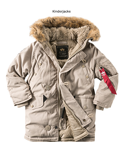 ALPHA INDUSTRIES Kids Explorer 103703/13 (Dia 1/2)