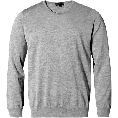 John Smedley RH-Pullover Lundy/silver (Dia 1/2)