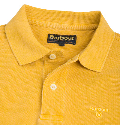 Barbour Polo-Shirt mustard MML0652YE71 (Dia 2/2)