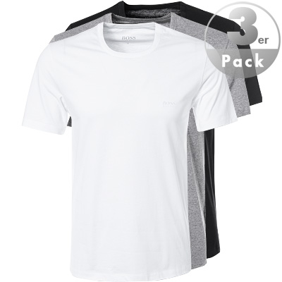 HUGO BOSS T-Shirt RN 3er Pack 50325388/999 (Dia 1/2)