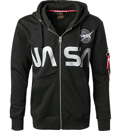 ALPHA INDUSTRIES Hoodie Nasa 178326/03 (Dia 1/2)