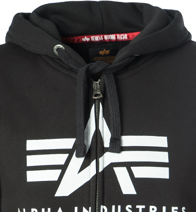ALPHA INDUSTRIES Zip Hoodie Basic 178325/03 (Dia 2/2)